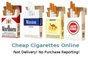Overseas cigarettes